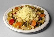 Cuscus con vegetales