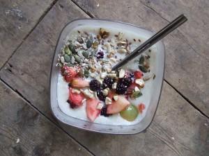 desayuno de avena