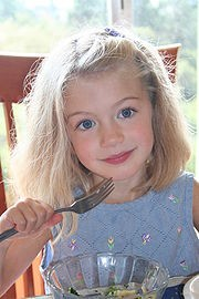 Menú de la dieta infantil