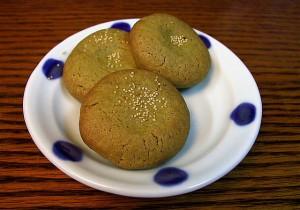 galletas de te verde