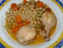 Garbanzos con pollo: recetas sanas y sabrosas