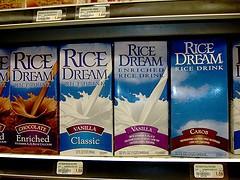Propiedades de la leche de arroz