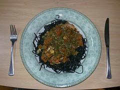 Receta de pasta con bacalao contra el colesterol