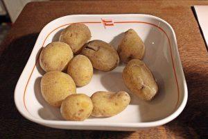 Patatas con piel