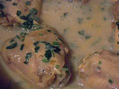 Receta de salsa blanca dietética baja en grasas