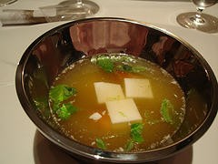 Sopa para bajar el colesterol