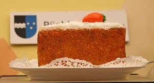 Tarta de zanahoria y naranja para el colesterol
