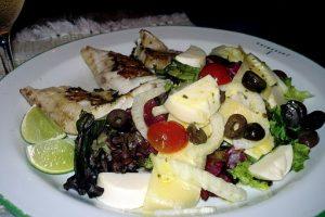 ensalada de pescado