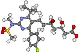 Rosuvastatina para bajar el colesterol